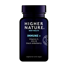 Higher Nature Immune + - Vitamin C with Zinc - 90 Tablets