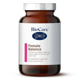 BioCare Femforte Balance - Red Clover - For Women - 60 Vegicaps