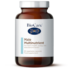 BioCare MaleForte Multi - Multivitamin & Mineral For Men - 60 Vegicaps