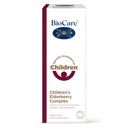 BioCare Children`s Elderberry Complex - with Zinc & Vitamin C - 150ml
