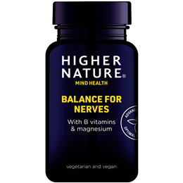 Higher Nature Balance for Nerves - Vitamin B Complex - 30 Vegicaps