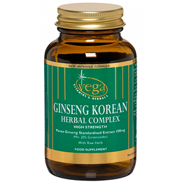 Vega Nutritionals Ginseng Korean Herbal Complex - 30 Vegicaps