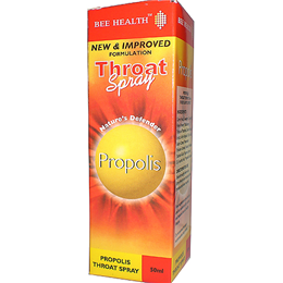 Bee Health Throat Spray Propolis Liquid - 50ml