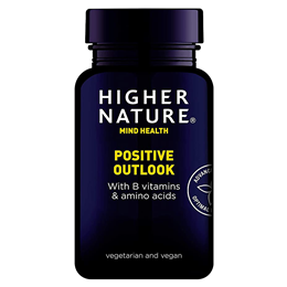 Higher Nature Positive Outlook - Mood Balancer - 90 Vegicaps