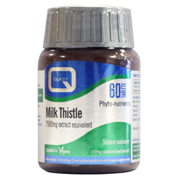 Quest Milk Thistle - Standardised Extract - 60 x 150mg Tablets