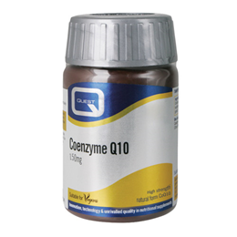 Quest Coenzyme Q10 - Cardiovascular Health - 30 x 150mg Tablets