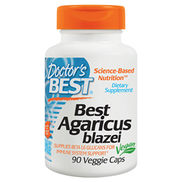 Doctors Best Agaricus Blazei - Immune Support - 90 x 400mg Vegicaps