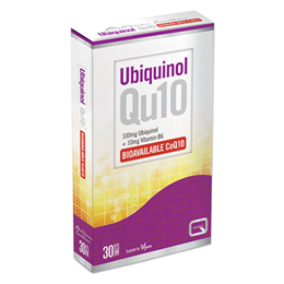Quest Ubiquinol Qu10 100mg + Vitamin B6 - Bioavailable - 30 Tablets