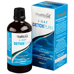 HealthAid 2 Day Detox Plan - 13 Active Herbs - 100ml liquid