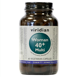 Viridian Woman 40+ Multi - Multivitamin - 60 Vegicaps