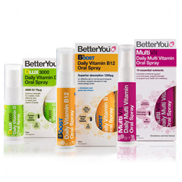 BetterYou Complete Wellness Pack - MultiVit, B12 Boost & DLux 3000
