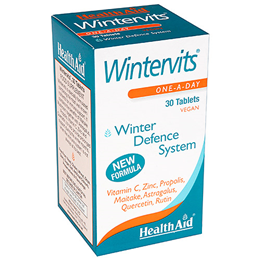 HealthAid Wintervits - Winter Defence System - 30 Vegan Tablets