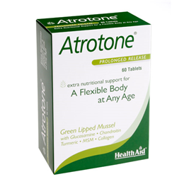 HealthAid Atrotone - Green Lipped Mussel - 60 Tablets