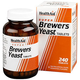 HealthAid Super Brewers Yeast - 240 Vegan Tablets