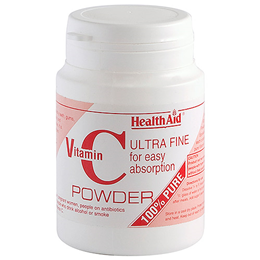 HealthAid Vitamin C - 100% Pure Ultra fine - 60g Powder