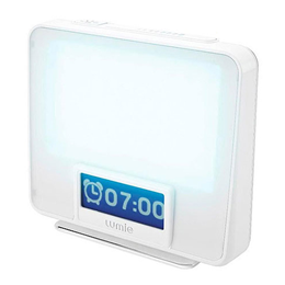 Lumie Zest - SAD Light Box - Wake Up Light - Sunrise Alarm Clock-White