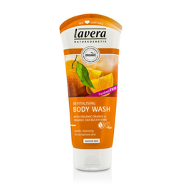 lavera Revitalising Body Wash - Organic Orange & Sea Buckthorn - 200ml