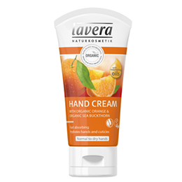 lavera Organic Orange & Sea Buckthorn Hand Cream - 50ml