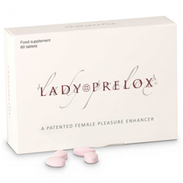 Pharma Nord LADY PRELOX - Female Pleasure Enhancer - 60 Tablets - Best before date is 28th February 2018