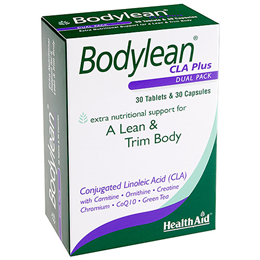 HealthAid Bodylean CLA Plus - Dual Pack - 30 Tablets & 30 Capsules