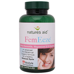 Natures Aid FemEeze with Chamomile & B Vitamins - 90 Vegicaps