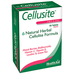 HealthAid Cellusite - Herbal Cellulite Formula - 60 Vegan Tablets