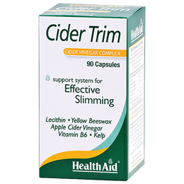 HealthAid Cider Trim - Apple Cider Vinegar - 90 Capsules