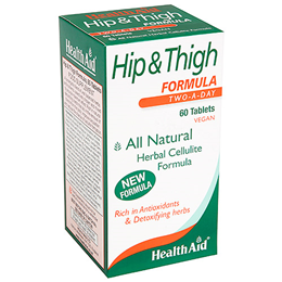 HealthAid Hip & Thigh Formula - Herbal Formula - 60 Vegan Tablets