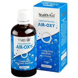 HealthAid Concentrated Air-Oxy - Stabilised Aerobic Oxygen - 100ml