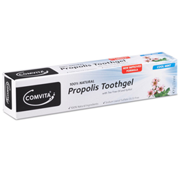 Comvita 100% Natural Propolis Toothgel - Tea Tree Oil - Cool Mint -90g