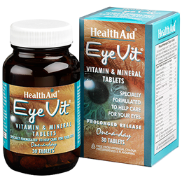 HealthAid EyeVit - Vitamins and Minerals - 30 Tablets