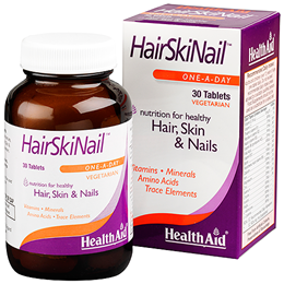 HealthAid HairSkiNail - Hair, Skin and Nails Formula - 30 Tablets