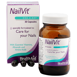HealthAid NailVit - Nail Care - Vitamins and Minerals - 30 Capsules