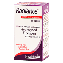 HealthAid Radiance - Collagen - Hair, Skin and Nails - 60 Tablets