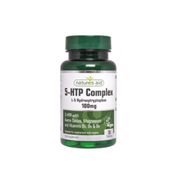 Natures Aid 5-HTP Complex - L-5-Hydroxytryptophan - 60 x 100mg Tablets