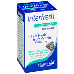 HealthAid Interfresh - Digestion and Colon Health - 60 Capsules