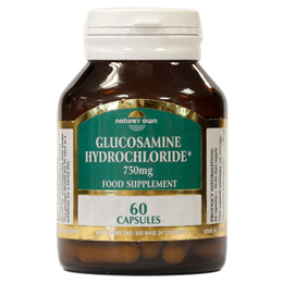 Natures Own Glucosamine Hydrochloride - 60 x 750mg Capsules