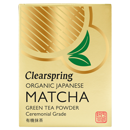 Clearspring Japanese Organic Matcha Green Tea - Ceremonial Grade - 30g