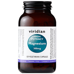 Viridian High Potency Magnesium - 120 x 300mg Vegicaps