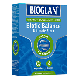 Bioglan Biotic Balance - 20 Billion Live Bacteria - 30 Capsules