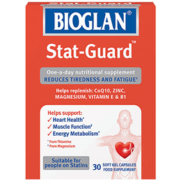 Bioglan Stat-Guard - CoQ10 & Vitamin E - 30 Softgel Capsules