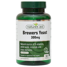 Natures Aid Brewers Yeast  - 500 x 300mg Tablets