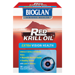 Bioglan Red Krill Oil - Extra Vision Health - 30 Capsules