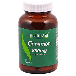 HealthAid Cinnamon 850mg Equivalent - 30 Vegicaps