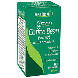 HealthAid Green Coffee Bean Extract - Chromium - 60 Vegicaps