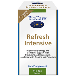 BioCare Refresh Intensive - Energy Support - 14 x 10g Sachets
