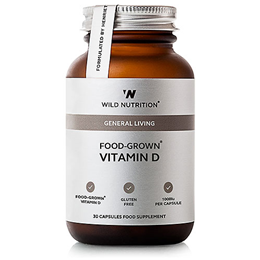 Wild Nutrition Food-Grown Vitamin D - 30 Capsules