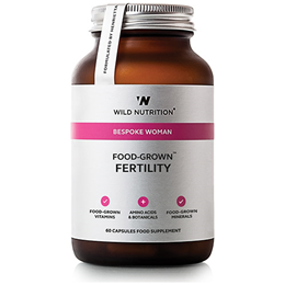 Wild Nutrition Food-Grown Fertility for Women - 60 Vegicaps