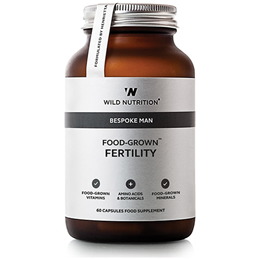 Wild Nutrition Food-Grown Fertility for Men - 60 Vegicaps