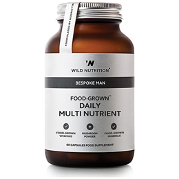 Wild Nutrition Food-Grown Daily Multi Nutrient - Men - 60 Capsules